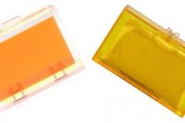 Look for Less: Orange Lucite