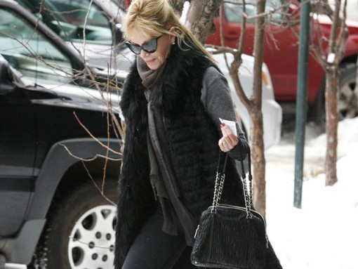 Melanie Griffith out shopping in Aspen
