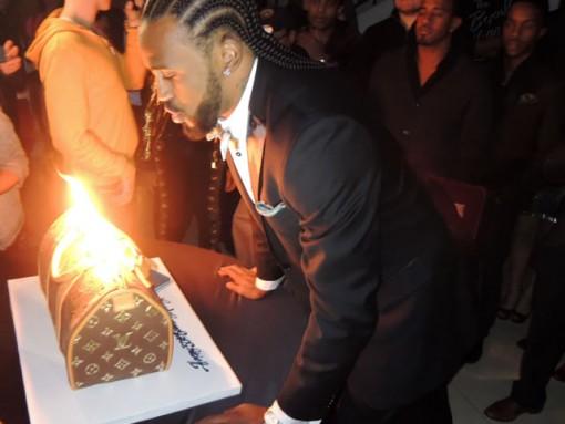 Ronny Turiaf Louis Vuitton Cake1
