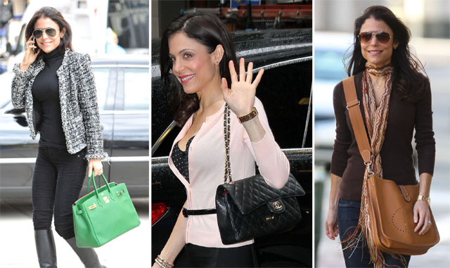 Bethenny Frankel seen out in Soho