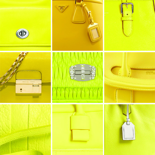 Yellow bags