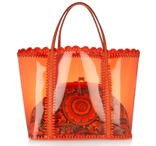 Dolce and Gabbana Miss Escape Tote and Clutch
