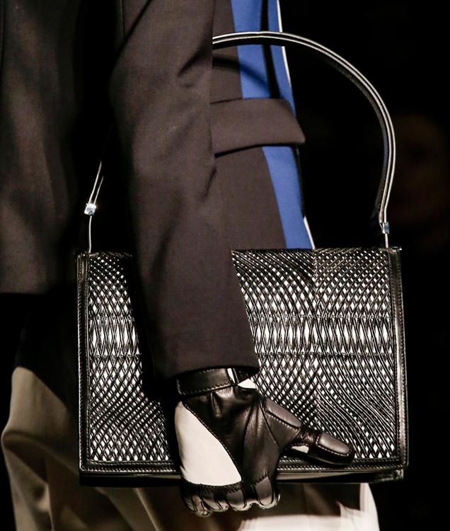Etro Fall 2013 Woven Handbag