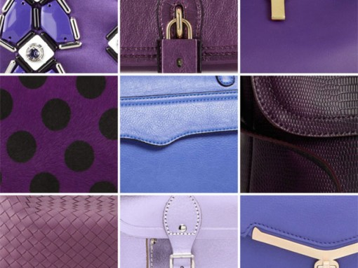 February Purple Bags