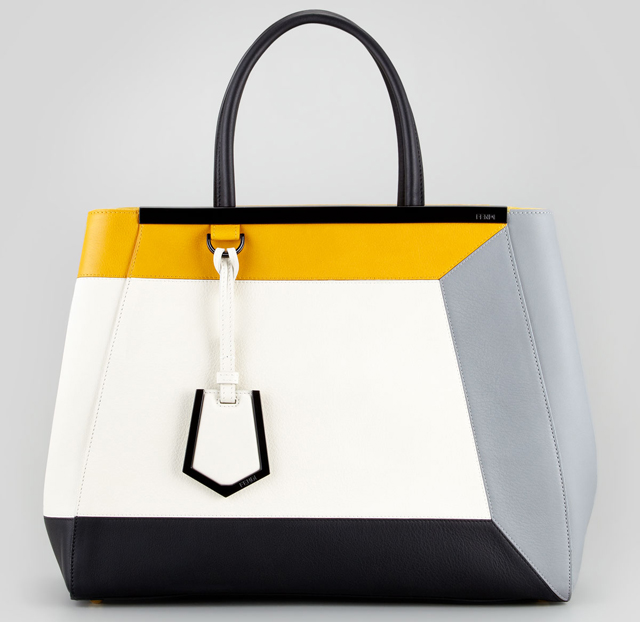 Fendi Colorblock Tote