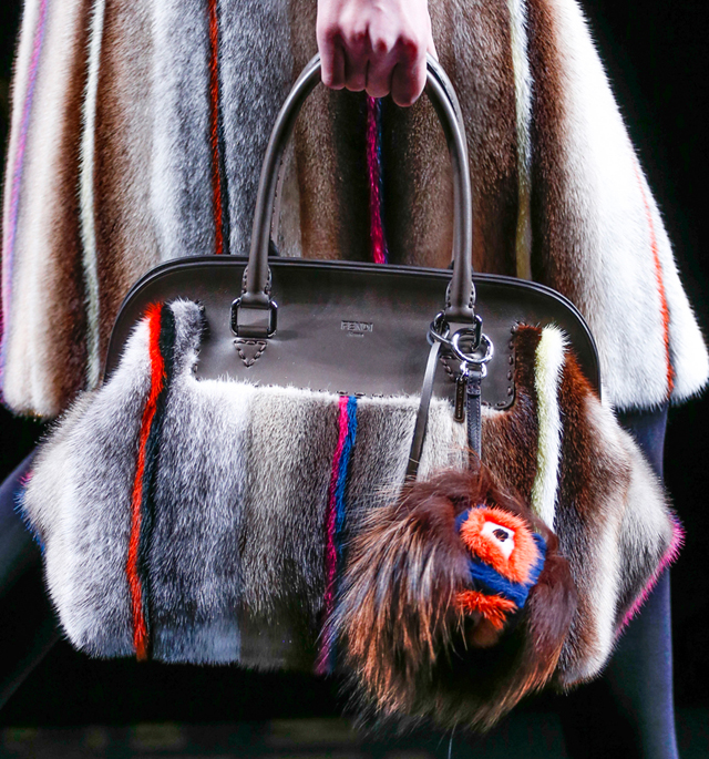 Fendi Fur Bags for Fall 2013 (1)