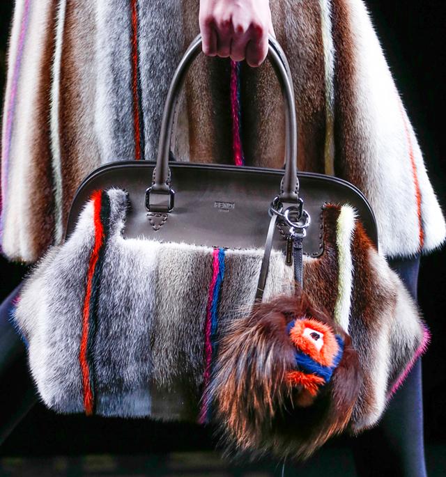 Fendi Fur Bags for Fall 2013 (1)