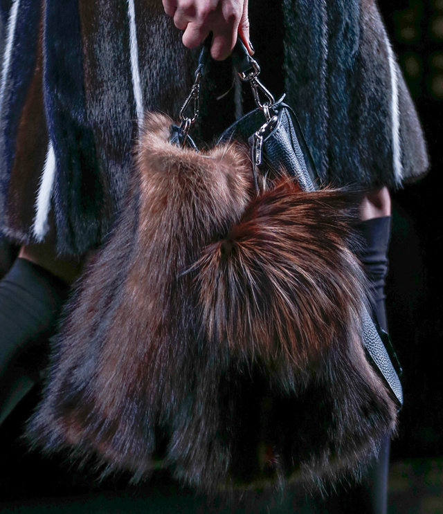 Fendi Fur Bags for Fall 2013 (10)
