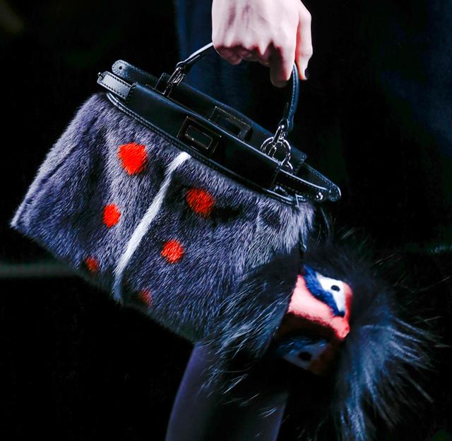 Fendi Fur Bags for Fall 2013 (11)