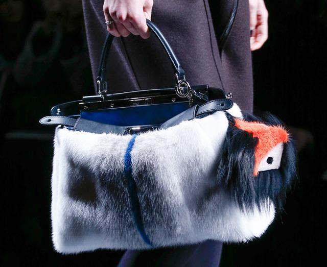 Fendi Fur Bags for Fall 2013 (13)