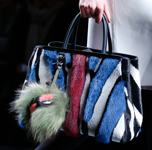 Fendi Fur Bags for Fall 2013 (17)