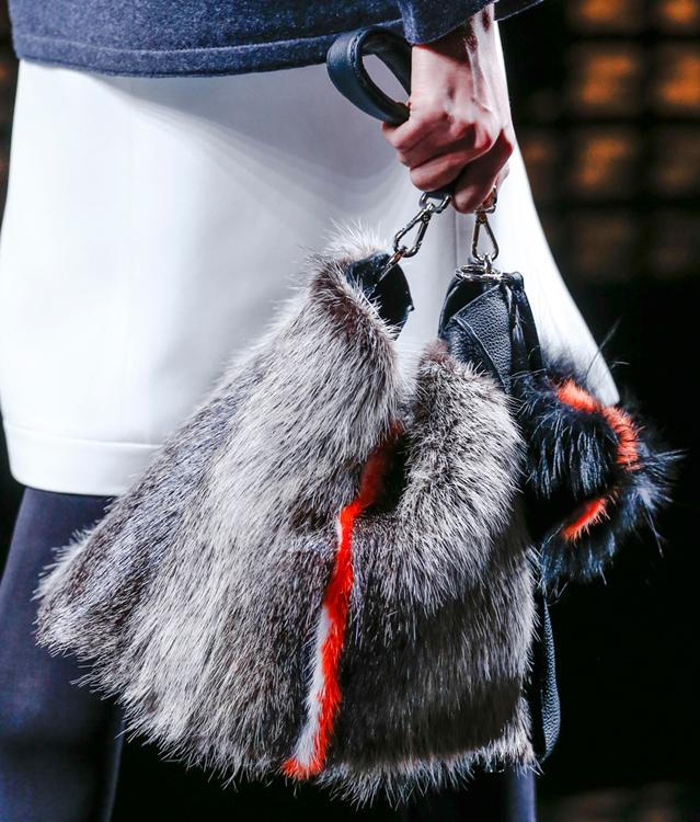 Fendi Fur Bags for Fall 2013 (19)