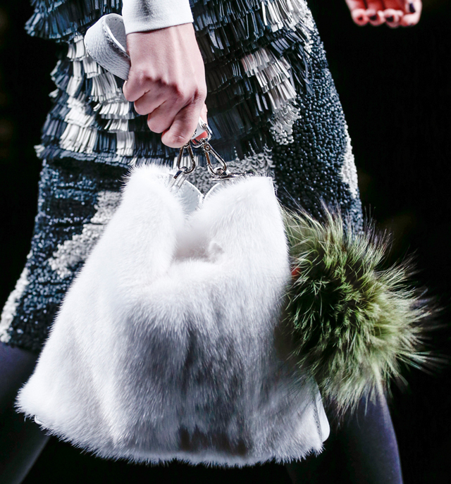 Fendi Fur Bags for Fall 2013 (23)
