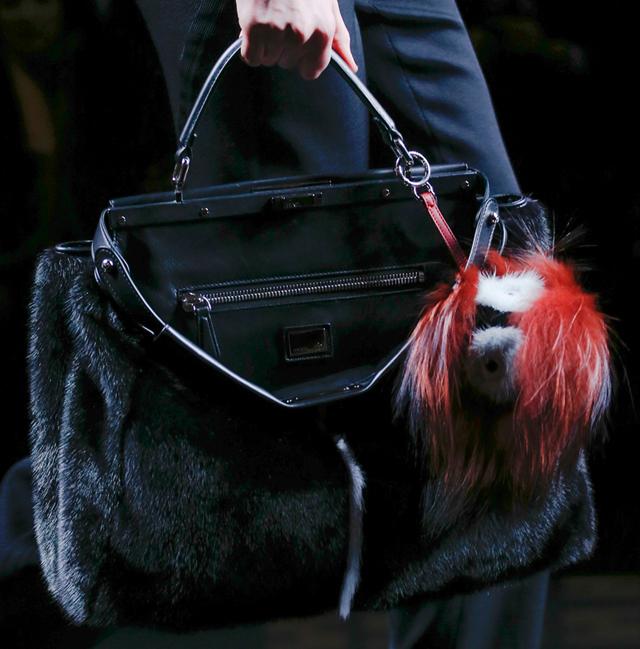 Fendi Fur Bags for Fall 2013 (4)