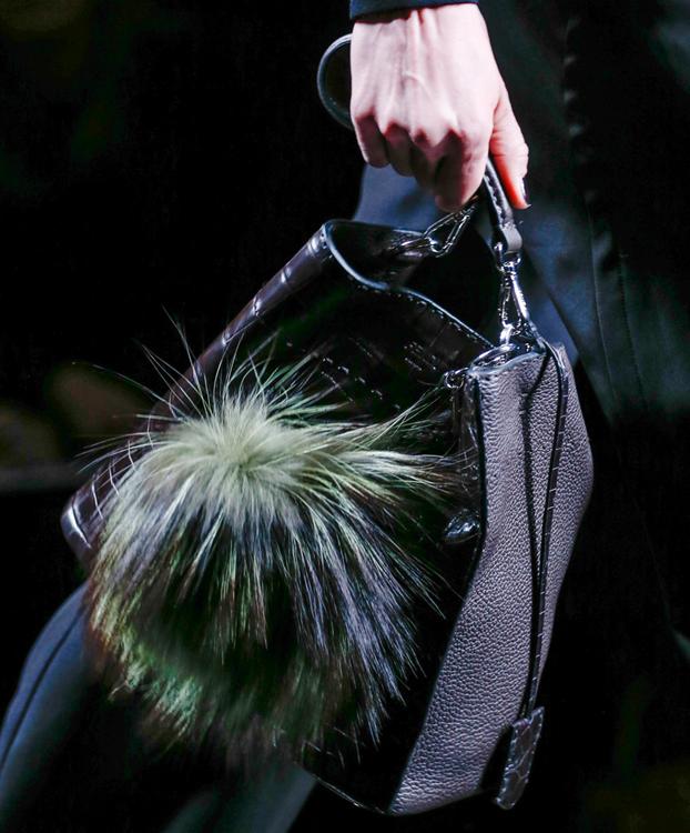 Fendi Fur Bags for Fall 2013 (7)