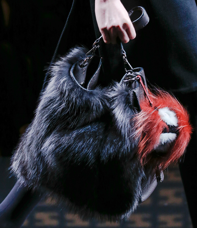 Fendi Fur Bags for Fall 2013 (9)