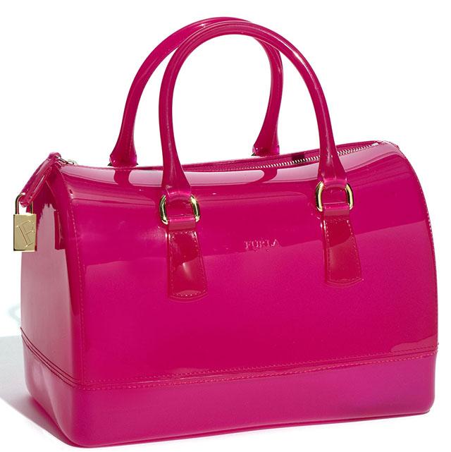 be56c3af0ffb ... Сумка Furla Candy Bag силикон (коричневая) ...