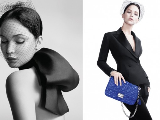 Jennifer Lawrence Miss Dior Handbag Ads (2)