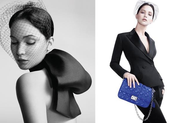 Jennifer Lawrence Miss Dior Handbag Ads (2)