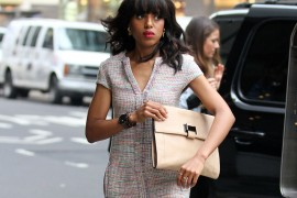 Kerry Washington spotted out and about in Midtown, NYC