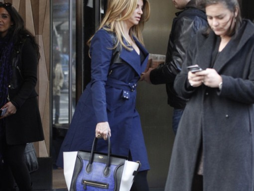Kirstie Alley can't control her hair while out in NYC