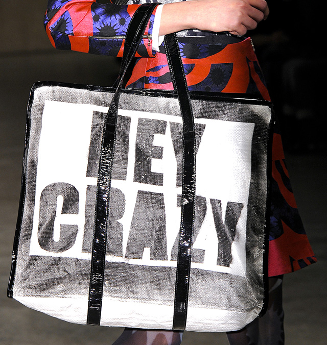 Louis Gray Crazy Tote