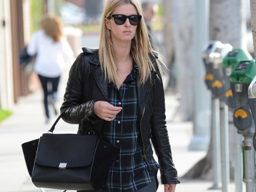 Nicky Hilton shops at 14 Karat in Beverly Hills