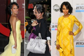 The Many Bags of Kerry Washington