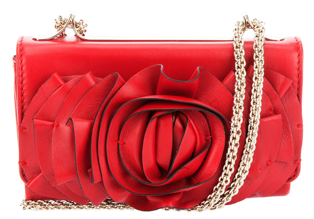 Valentino Rose Clutch