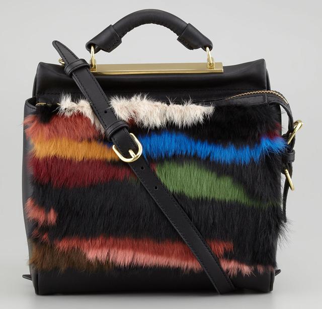 3.1 Phillip Lim Ryder Small Fur Crossbody