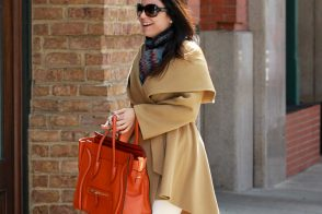 Bethenny Frankel gives her Birkins a rest in favor of a Celine Luggage Tote