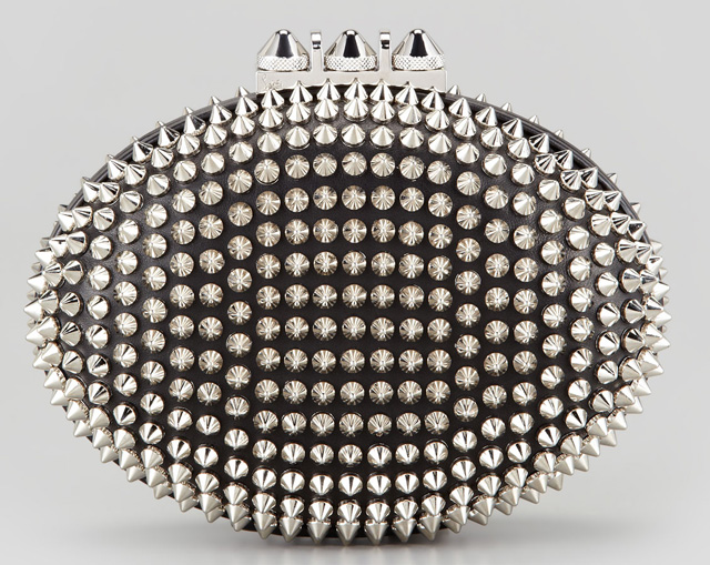 Christian Louboutin Spiked Clutch