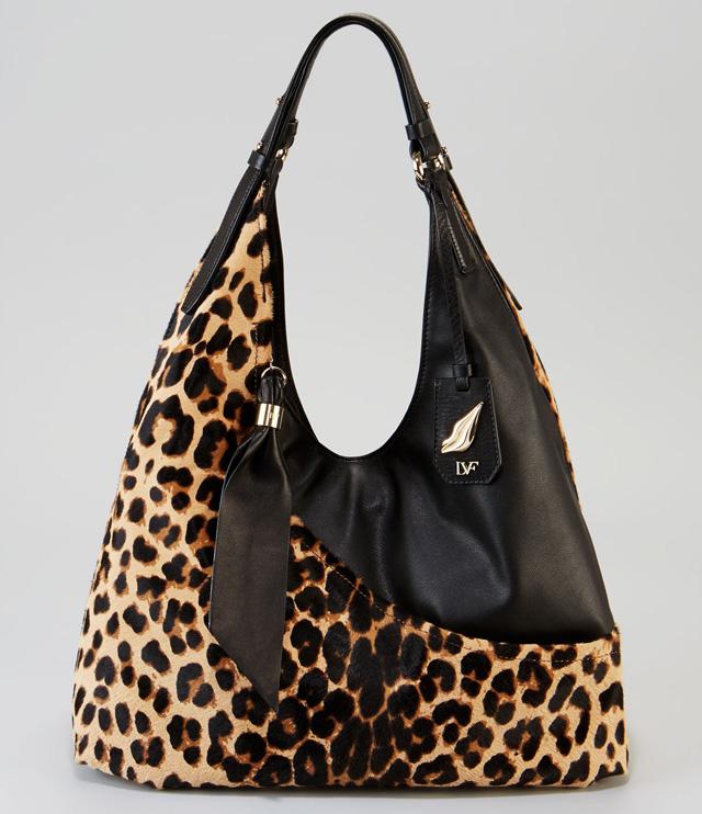 Diane von Furstenberg Leopard Wrap Bag