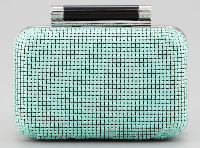 Diane von Furstenberg Tonda Chain Mail Clutch Bag