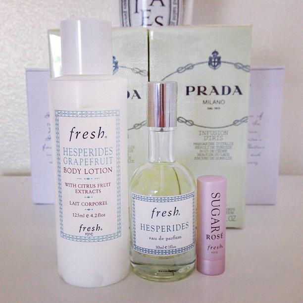 Fresh Beauty Haul with Prada