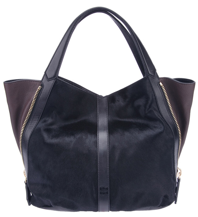 Givenchy Leather and Calfhair Tote