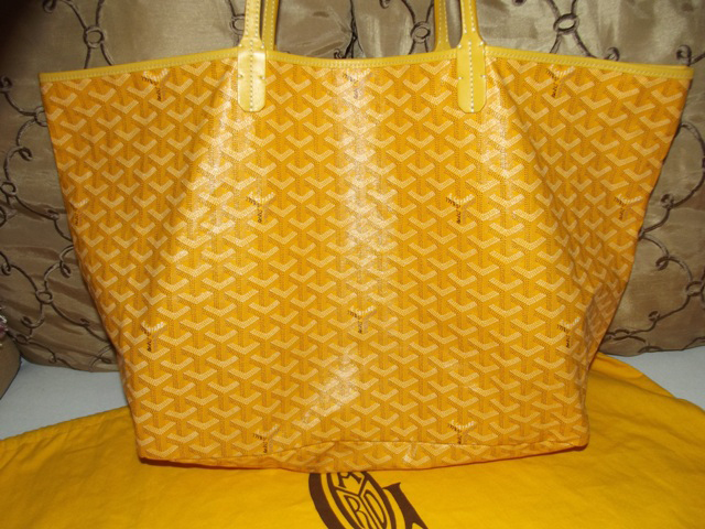 Goyard St Louis Tote Yellow