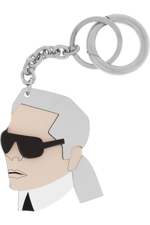 Karl Plexiglass Key Fob