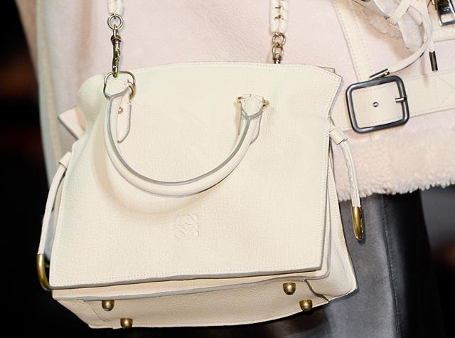 Loewe Ivory Flamenco Bag