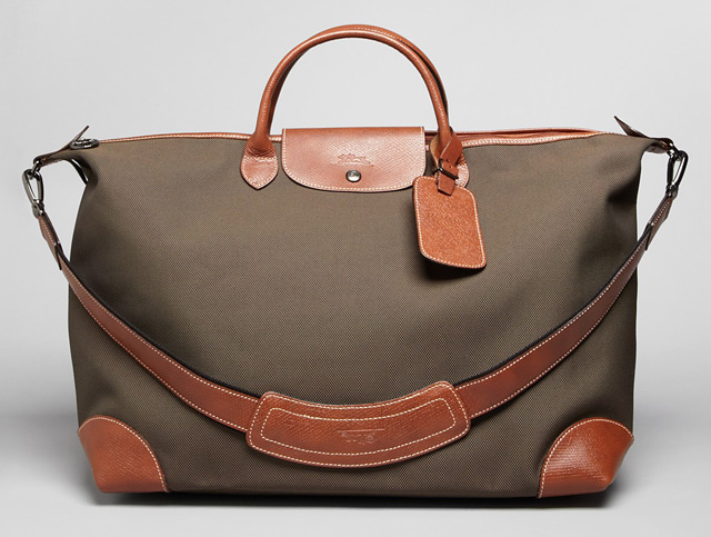 Longchamp travel bag celebrity