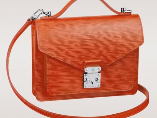 Louis Vuitton Monceau BB Bag Piment Epi