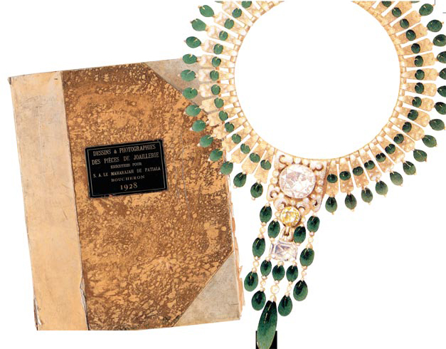 Maharajah of Patiala Custom Boucheron Necklace
