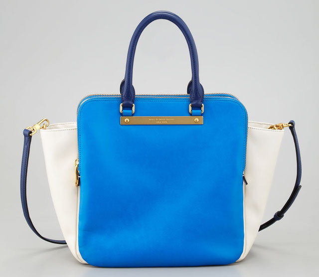 Marc by Marc Jacobs Goodbye Columbus Bentley Colorblock Tote