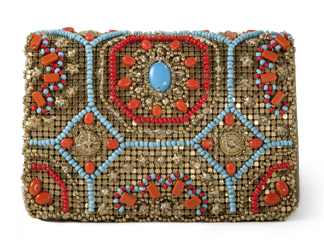 Marchesa Chain Mail Marisol ClutchMarchesa Chain Mail Marisol Clutch