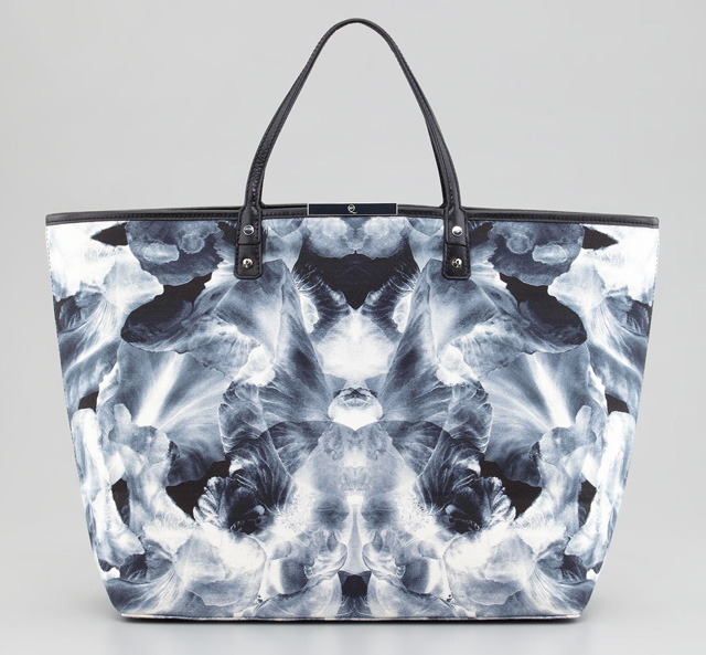 McQ Alexander McQueen Iris Large Printed Tote