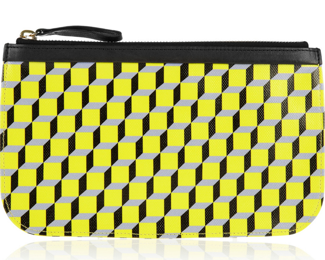 Pierre Hardy Cube Print Pouch