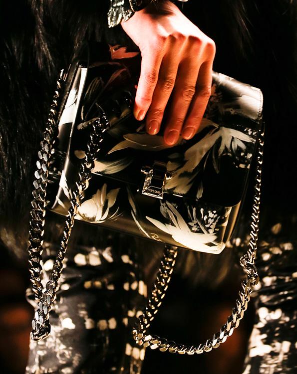 Roberto Cavalli Chain Strap Printed Bag