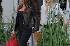 Tamara Ecclestone celebrates the start of spring with a pink Celine bag