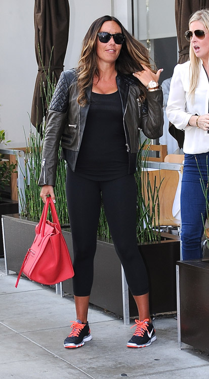 Tamara Ecclestone carries a pink Celine Phantom Luggage Tote in Beverly Hills (4)