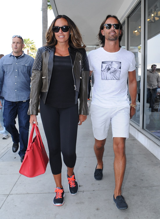 Tamara Ecclestone carries a pink Celine Phantom Luggage Tote in Beverly Hills (3)